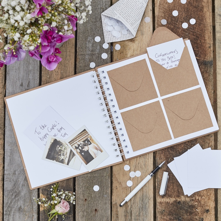 Alternatívne svadobné knihy hostí, ktoré si nesmiete nechať ujsť