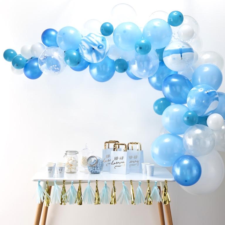Balónová Brána - Modrá (70ks)