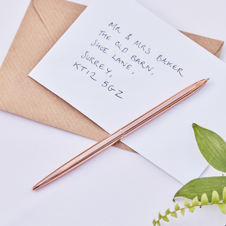 Svadobné Pero - Ružovozlatá