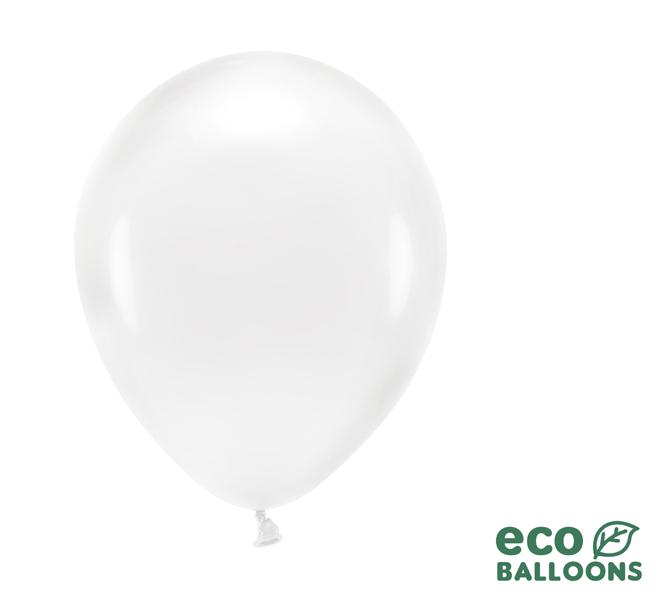 Eko Balóny - Priehľadná - 26 cm (20ks)