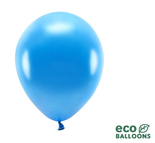 Eko Balóny - Metalická Modrá - 26 cm (20ks)