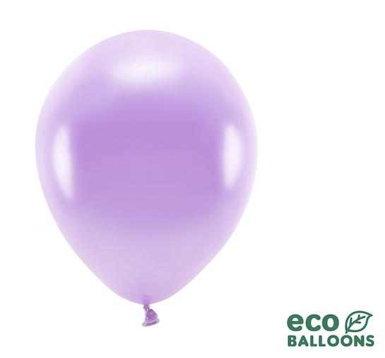 Eko Balóny - Metalická Levanduľová - 26 cm (20ks)