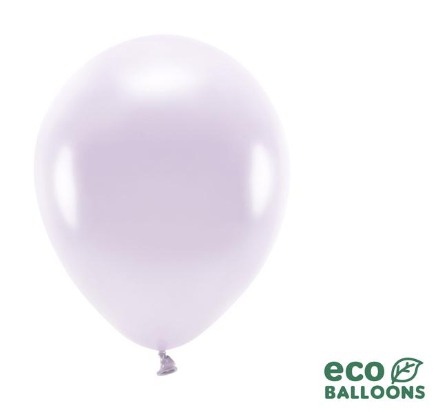 Eko Balóny - Metalická Svetlofialová - 26 cm (20ks)