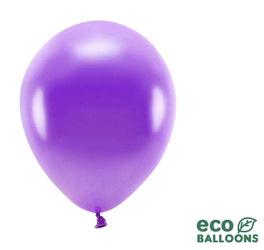 Eko Balóny - Metalická Fialová - 26 cm (20ks)