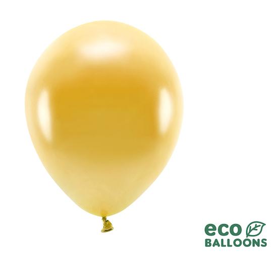 Eko Balóny - Metalická Zlatá - 26 cm (20ks)