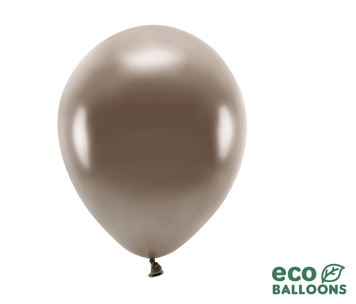 Eko Balóny - Metalická Hnedá - 26 cm (20ks)