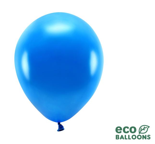 Eko Balóny - Metalická Navy Modrá - 26 cm (20ks)