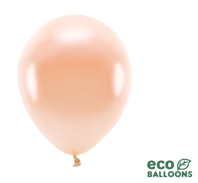 Eko Balóny - Metalická Marhuľová - 26 cm (20ks)