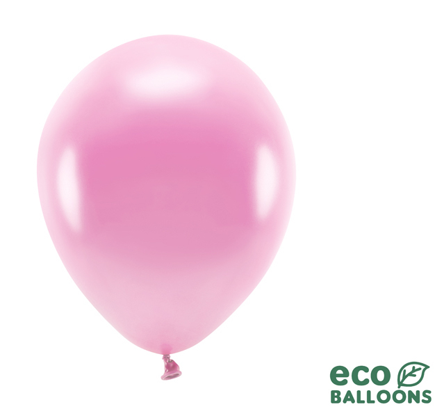 Eko Balóny - Metalická Ružová - 26 cm (20ks)