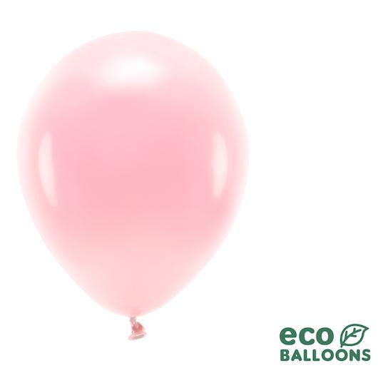 Eko Balóny - Pastel - Púdrovo Ružová - 26 cm (10ks)