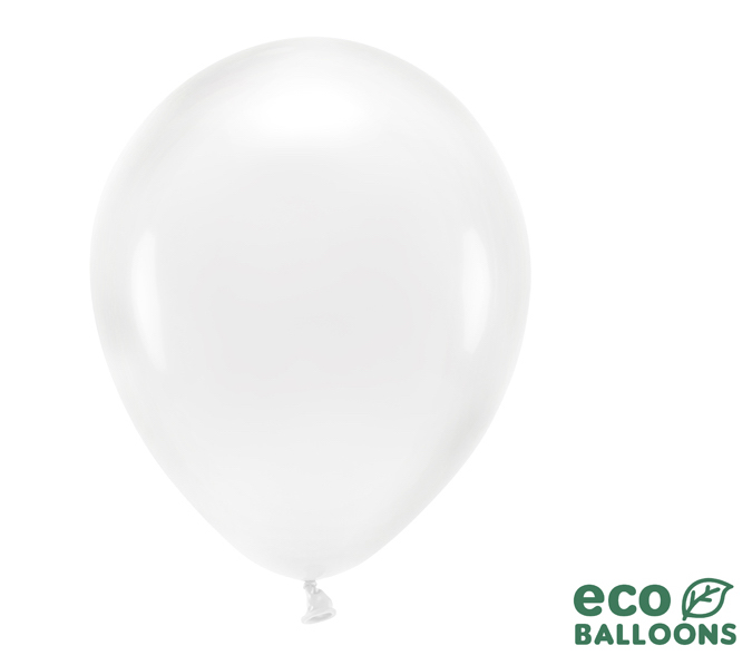 Eko Balóny - Priehľadná - 30 cm (20ks)