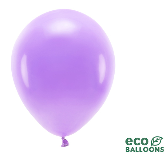 Eko Balóny - Pastel - Levanduľová - 30 cm (10ks)