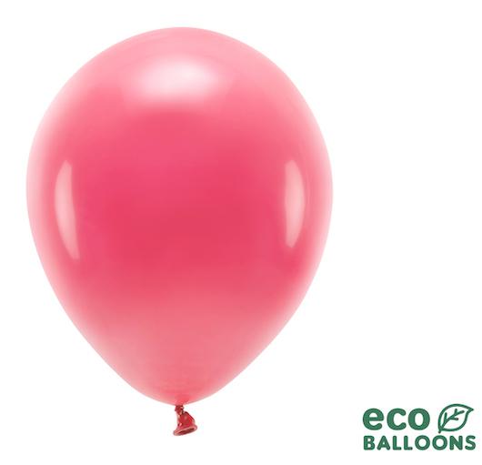 Eko Balóny - Pastel - Svetlo Červená - 30 cm (10ks)