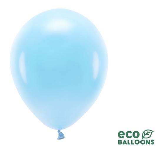 Eko Balóny - Pastel - Nebovo Modrá - 30 cm (10ks)