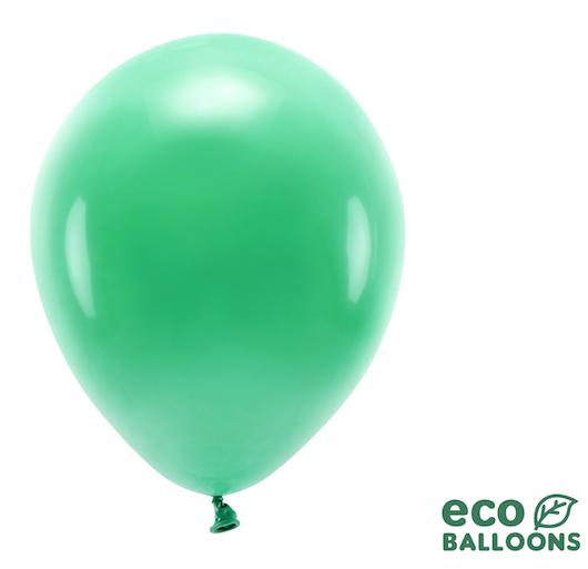 Eko Balóny - Pastel - Zelená - 30 cm (10ks)
