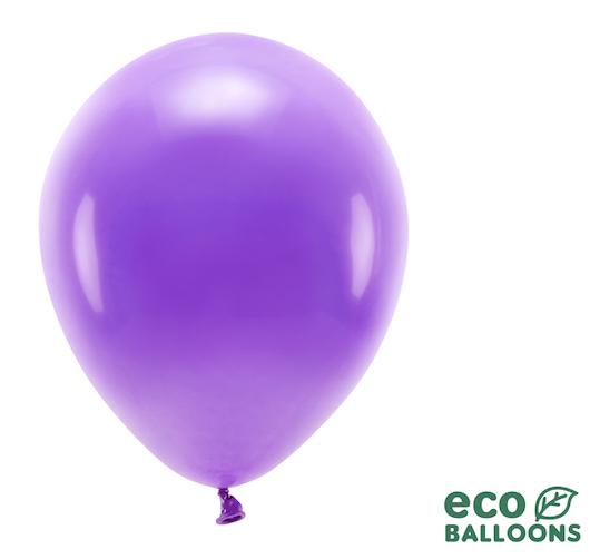 Eko Balóny - Pastel - Fialová - 30 cm (10ks)