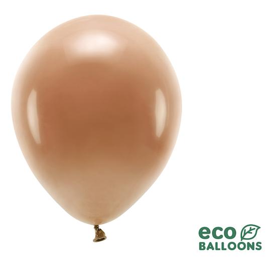 Eko Balóny - Pastel - Čokoládovo Hnedá - 30 cm (10ks)