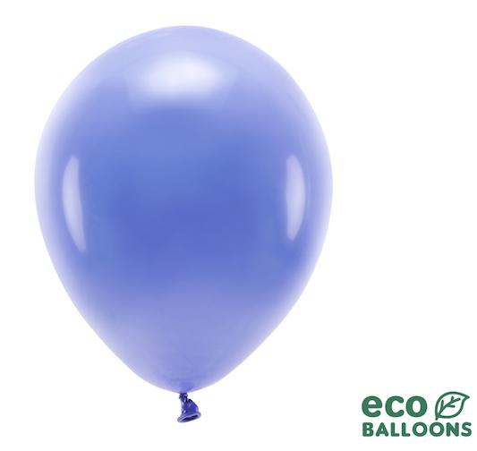 Eko Balóny - Pastel - Ultramarínovo Modrá - 30 cm (10ks)