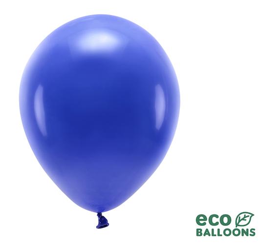 Eko Balóny - Pastel - Námornícka Modrá - 30 cm (10ks)