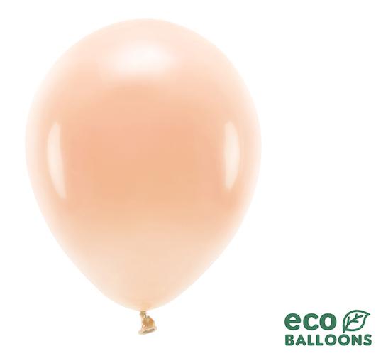 Eko Balóny - Pastel - Broskyňová - 30 cm (10ks)