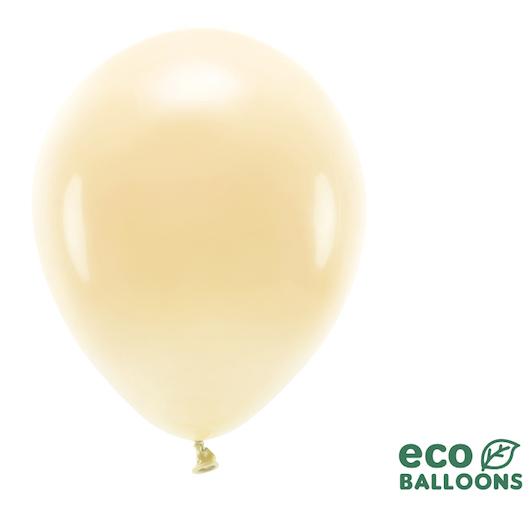 Eko Balóny - Pastel - Svetlo Broskyňová - 30 cm (10ks)