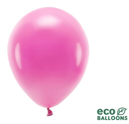 Eko Balóny - Pastel - Fuchsiová - 30 cm (10ks)