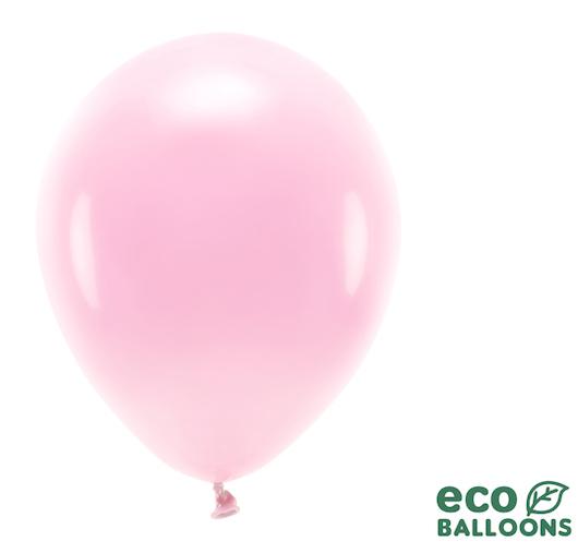 Eko Balóny - Pastel - Svetlo Ružová - 30 cm (10ks)