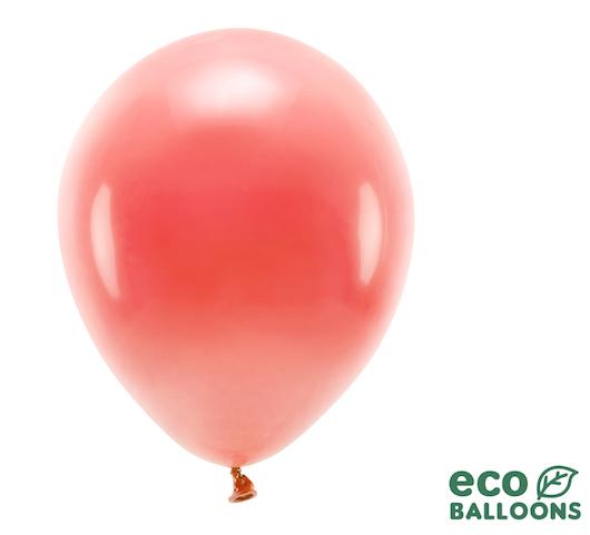 Eko Balóny - Pastel - Koralová - 30 cm (10ks)