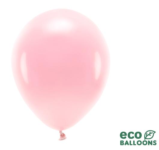 Eko Balóny - Pastel - Púdrovo Ružová - 30 cm (10ks)