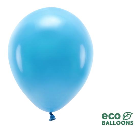 Eko Balóny - Pastel - Tyrkysová - 30 cm (10ks)