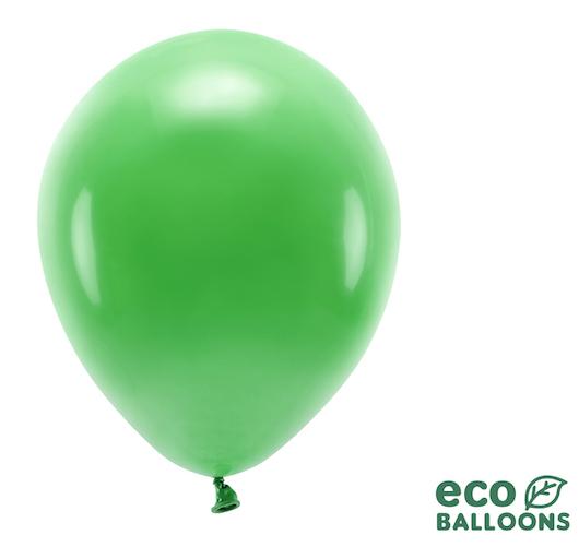 Eko Balóny - Pastel - Trávovo Zelená - 30 cm (10ks)