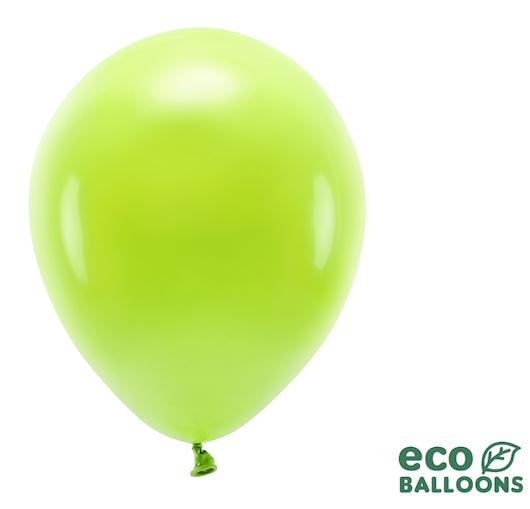 Eko Balóny - Pastel - Zelené Jablko - 30 cm (10ks)