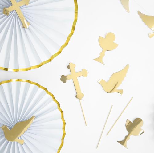 Ozdoba na Tortu - Prvé Sväté Prijímanie (6ks)