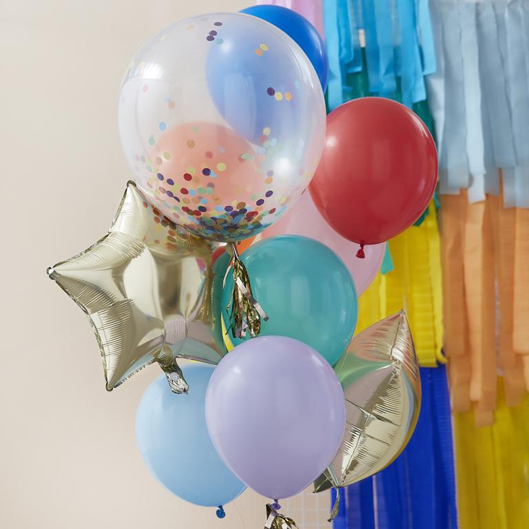 Balónový Set - Dúhový Mix (11ks)