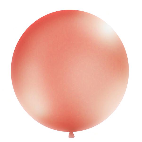Okrúhly Balón - Ružovozlatá (1m)