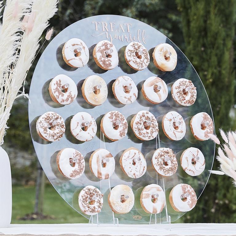 Donutková Stena - Kruh - Akryl