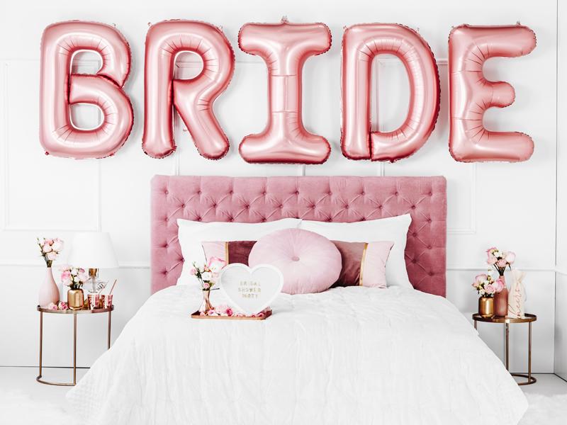 Pripínačka - Bride's Babes - Ružová