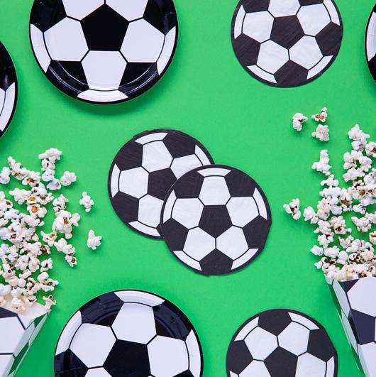 Papierové Servítky - Futbalová Lopta (20ks)