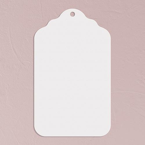 Označovací Štítok - Biela