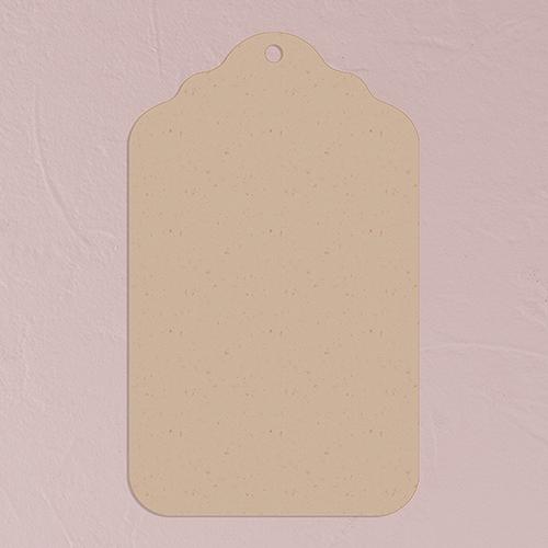 Označovací Štítok - Prírodná Hnedá