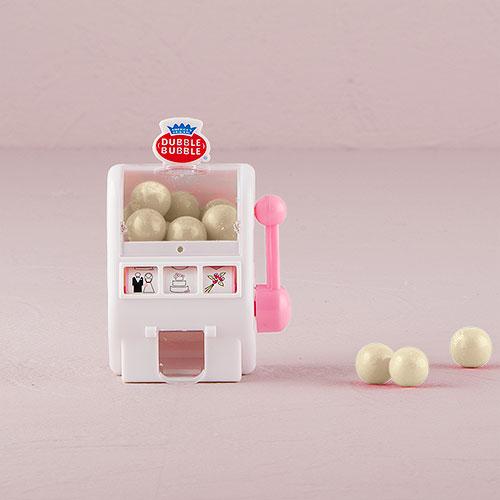 Hrací Automat na Žuvačky - Biela a Ružová