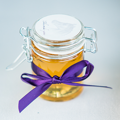 Glass Jar With Wire Snap Lid Favour Container - Small