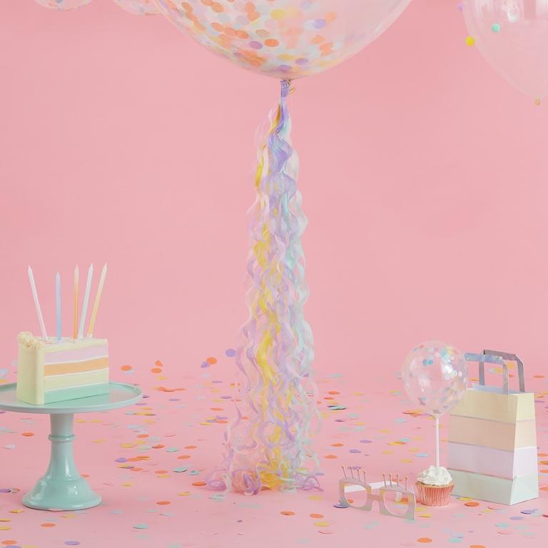 Balónový Chvost - 80 cm - Pastelová Party