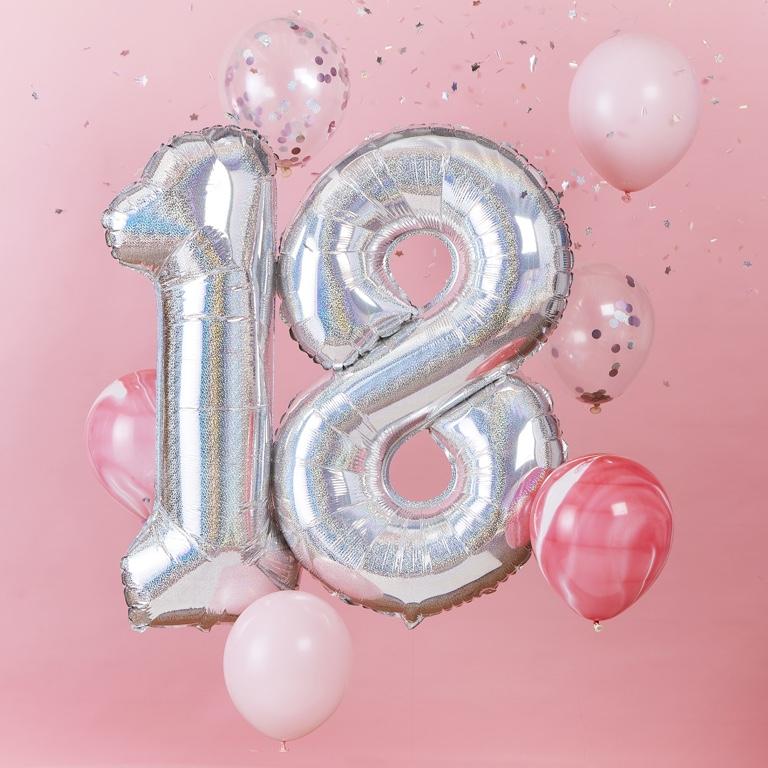 Balónový Set - 18te Narodeniny (8ks)