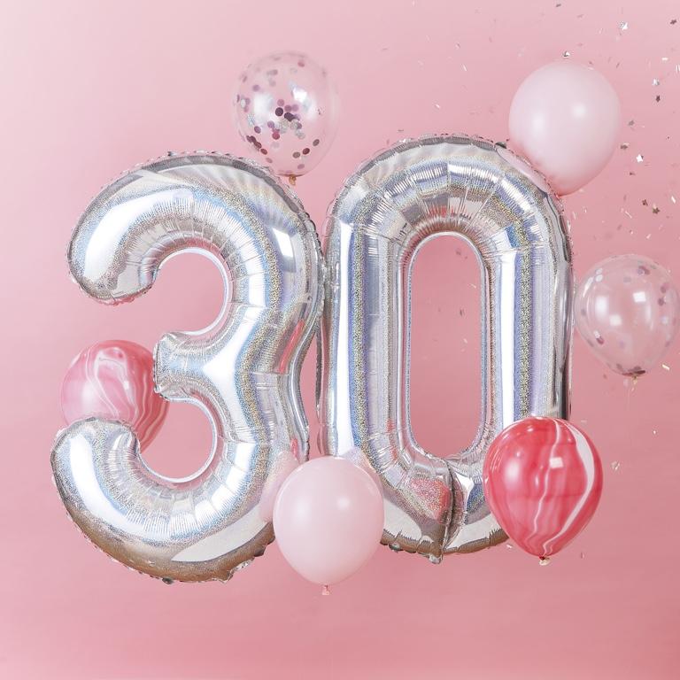 Balónový Set - 30te Narodeniny (8ks)